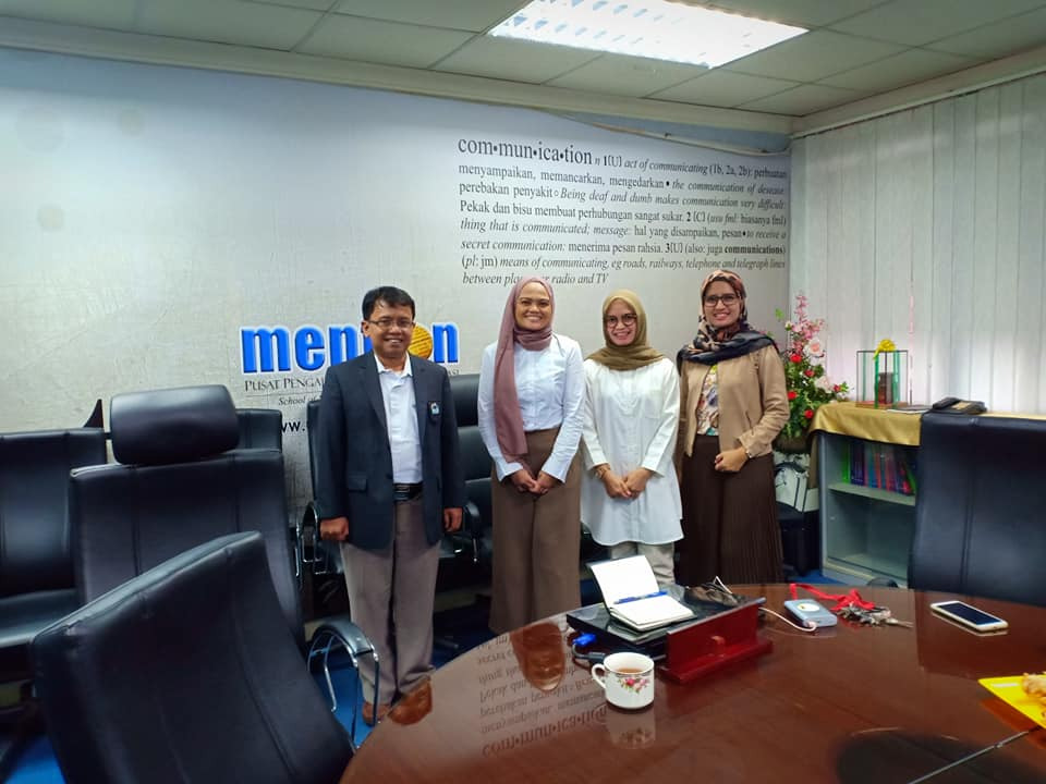 Kaprodi dan dosen Jurnalistik UIN Jakarta