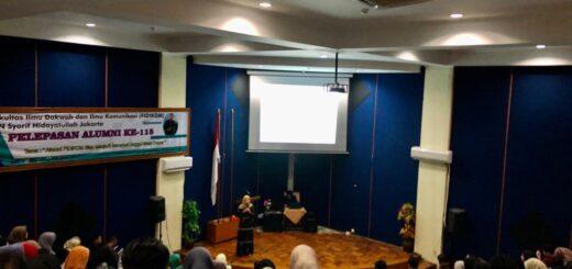 Pelepasa Alumni ke-115 FIDIKOM UIN Jakarta