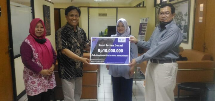 Aksi Sosial Fidkom UIN Jakarta