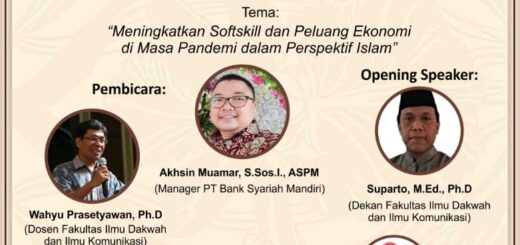 Workshop online Fidkom UIN Jakarta