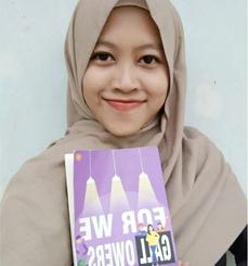 Indriyani, mahasiswi KPI UIN Jakarta