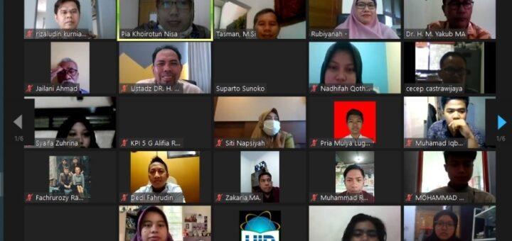 FDIKOM UIN Jakarta Gelar Diskusi Dosen