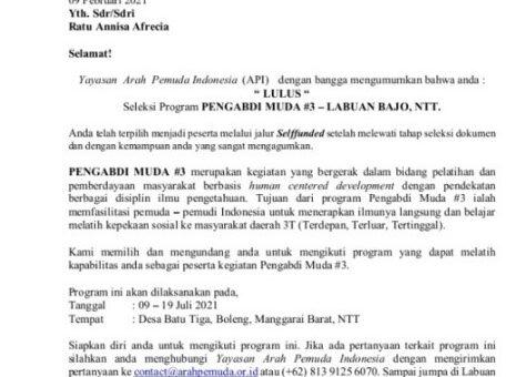 Tiga Mahasiswa BPI UIN Jakarta Lolos Seleksi Program Pengabdian Masyarakat